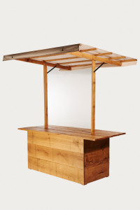 Ombouwset conversion kit Woody tafel table to presentation stand