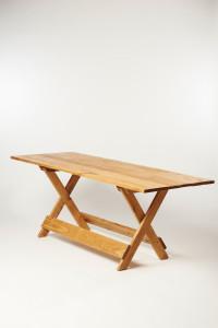 Tafel eikenhout op maat gemaakt in Nederland
