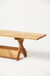 zonder losse onderdelen dinertafel bank Woody Original vouwsysteem